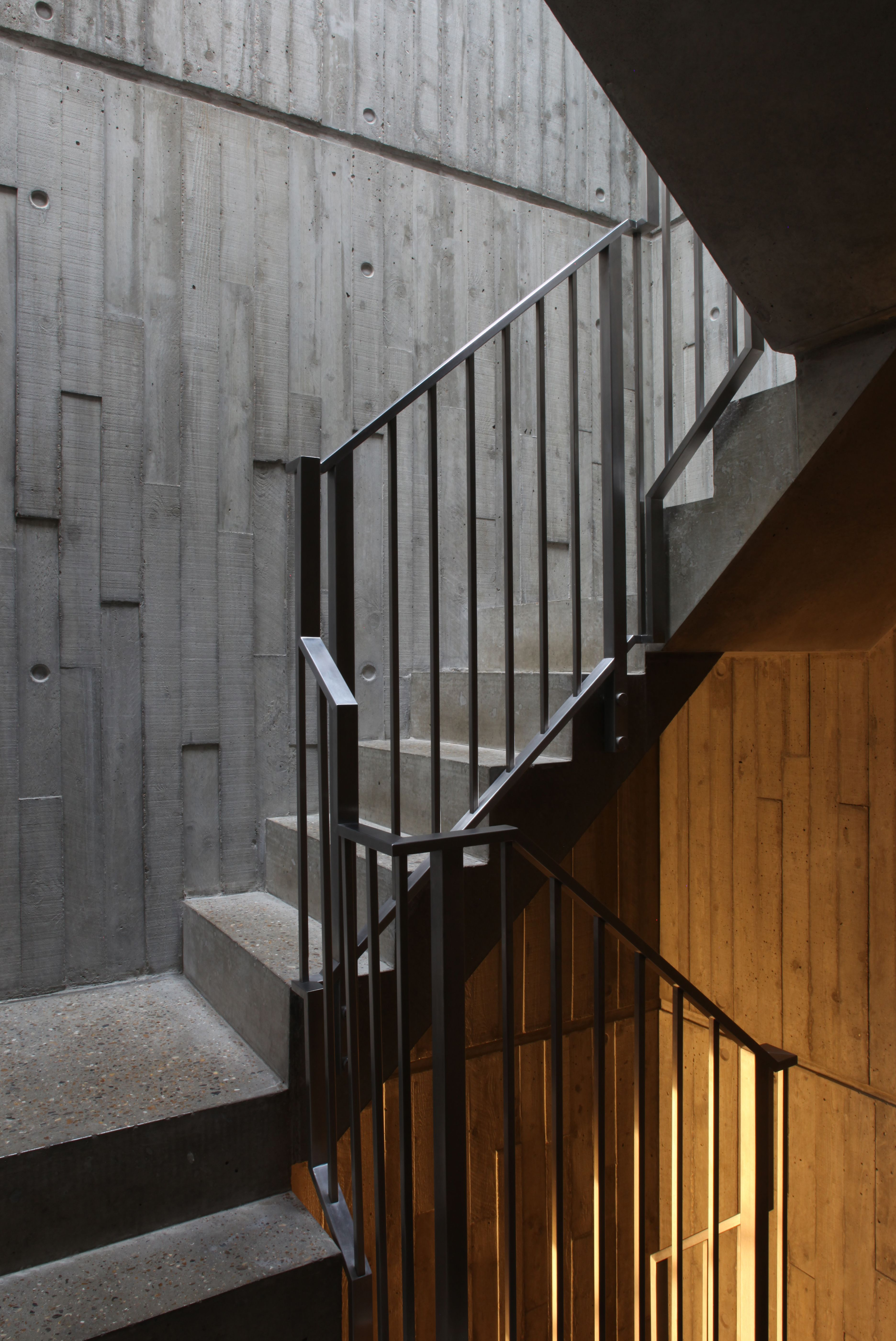 Frame House - Stairwell