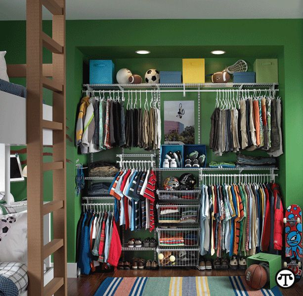 Kidsu0027 Closets: Clothing And Toy Storage For Boys And Girls