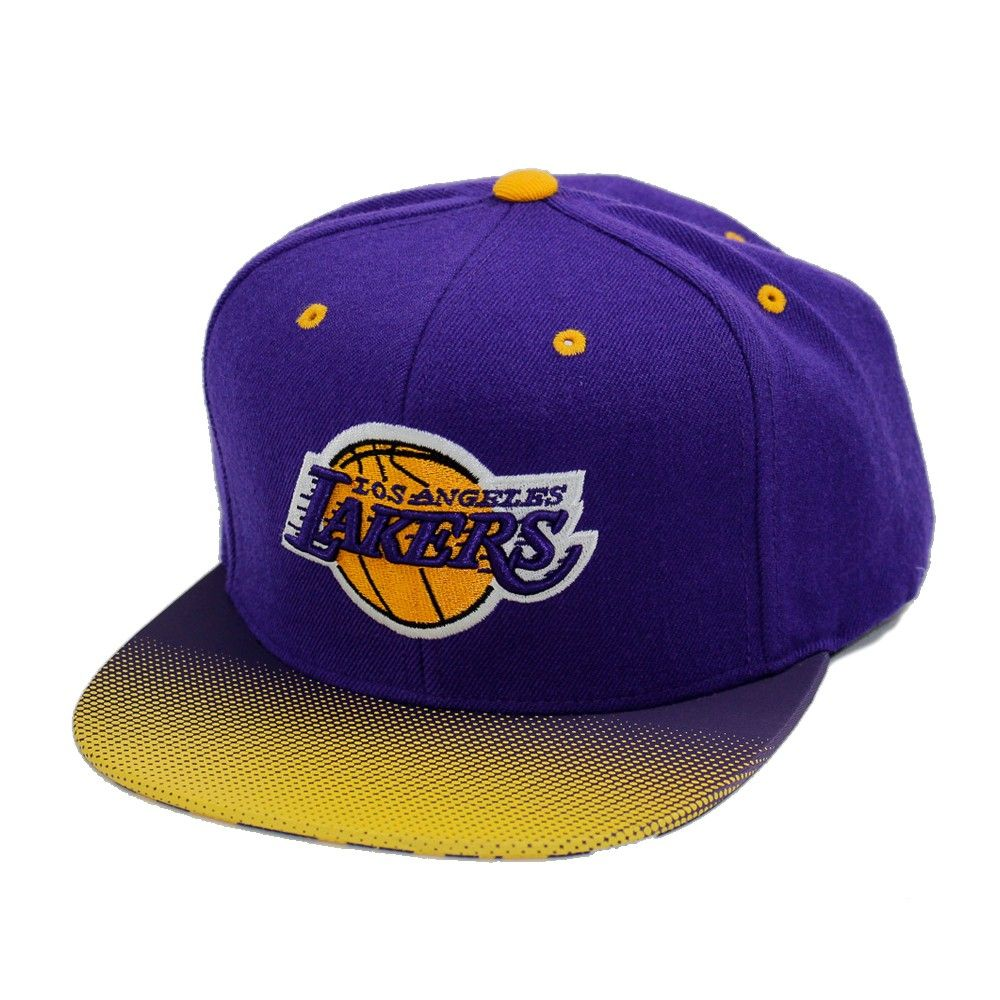 dbe4277733ec2 Boné Mitchell and Ness Snapback Los Angeles Lakers
