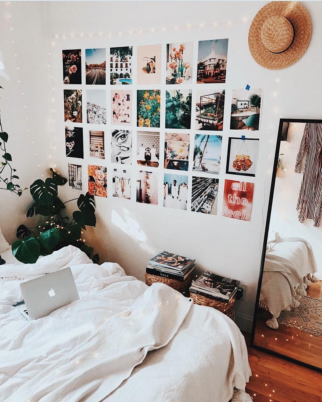Perfekte Idee Für Dein WG Zimmer: Schöne Poster Oder Postkarten  Schachbrettartig An Die Wand