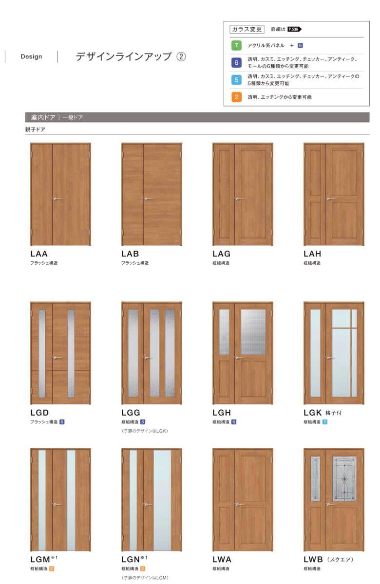 楽天市場 室内ドア カラーサンプル リクシル ラシッサ Lixil