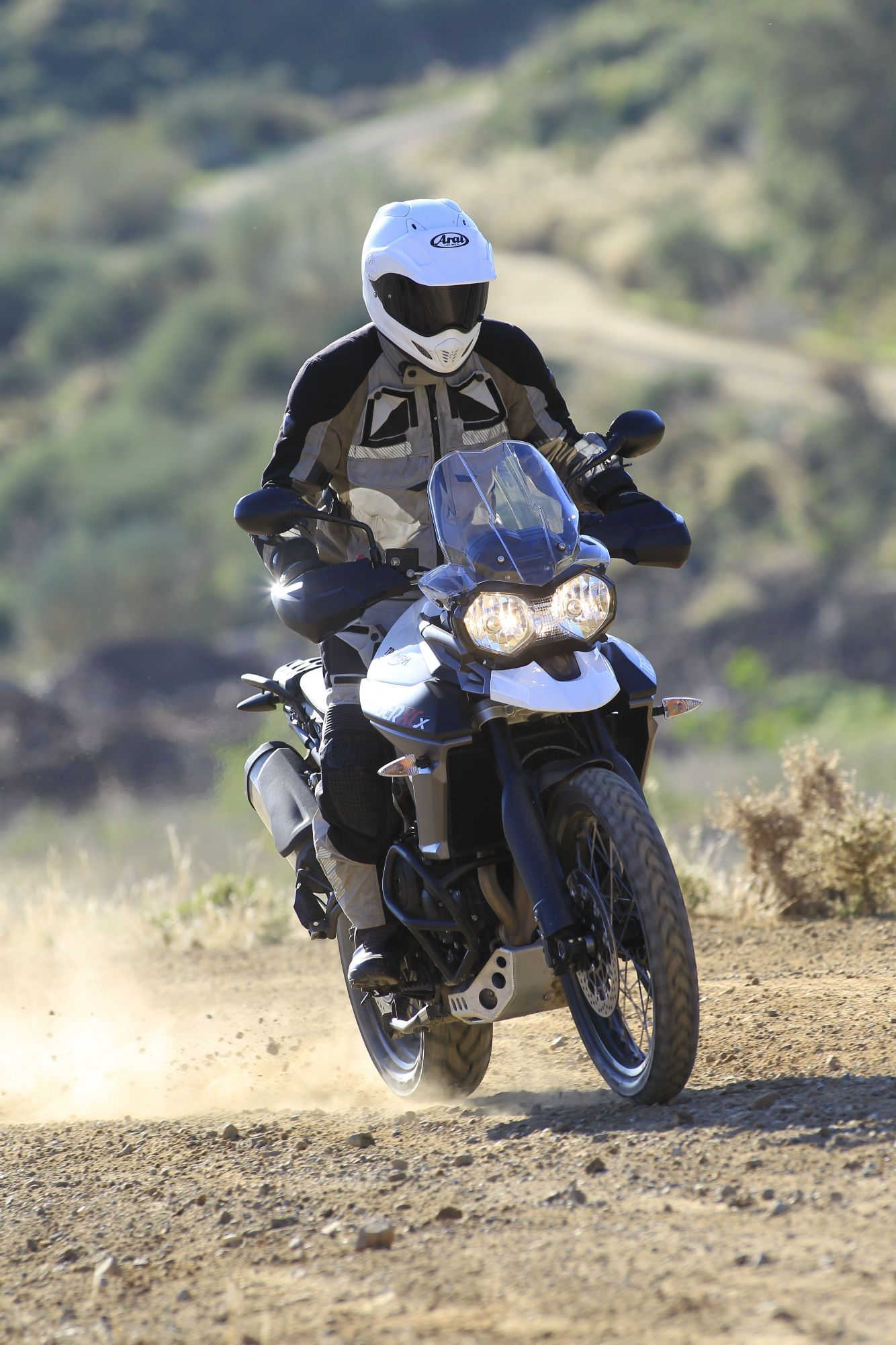 First ride Triumph Tiger 800 XCx review