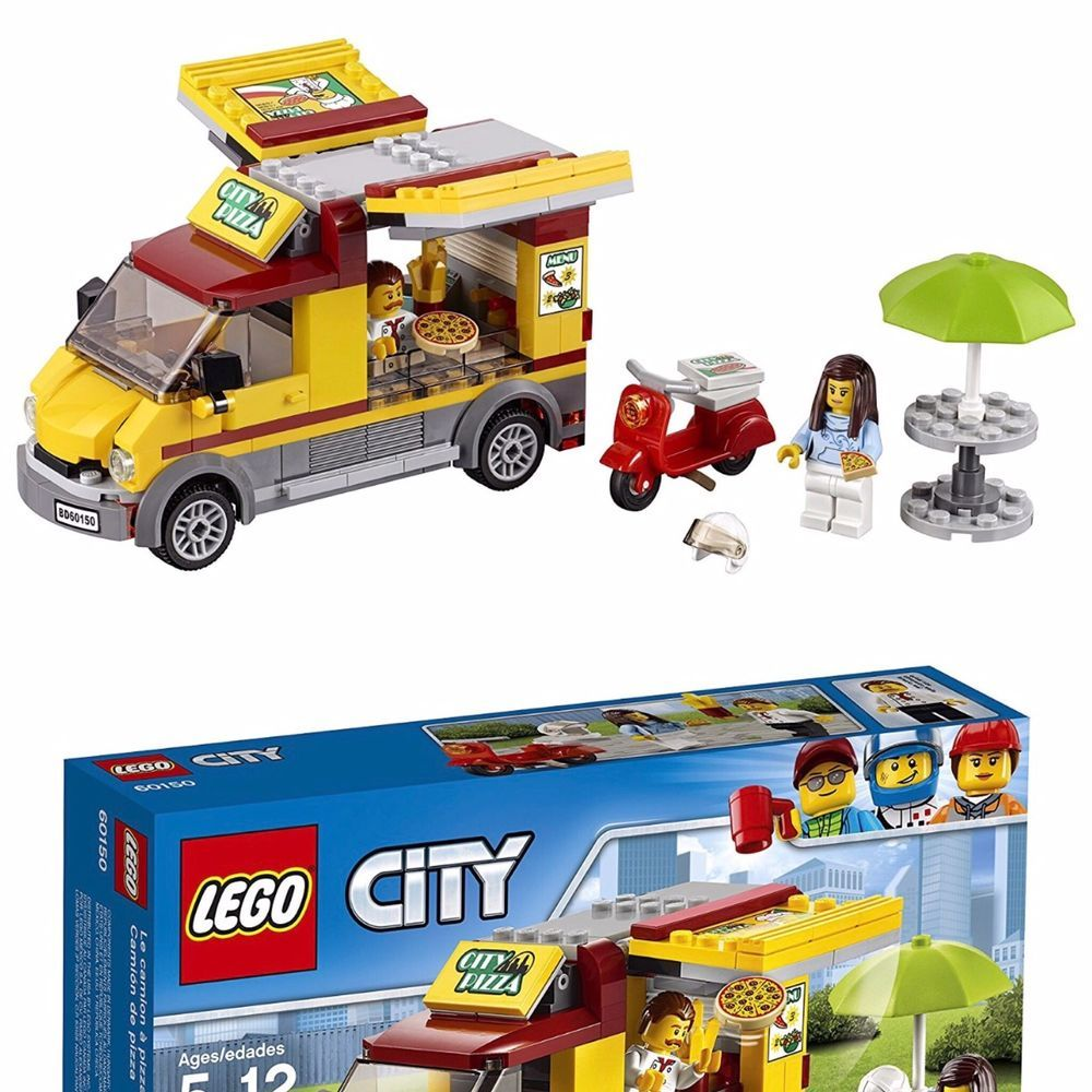 LEGO-City-Great-Vehicles-Pizza-Van Building-Kit LEGO-City-Great ...