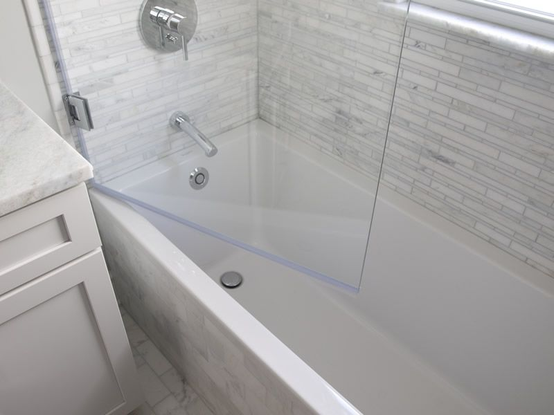 It Is Necessary To Open The Glass Into Or Out Of The Tub To Add