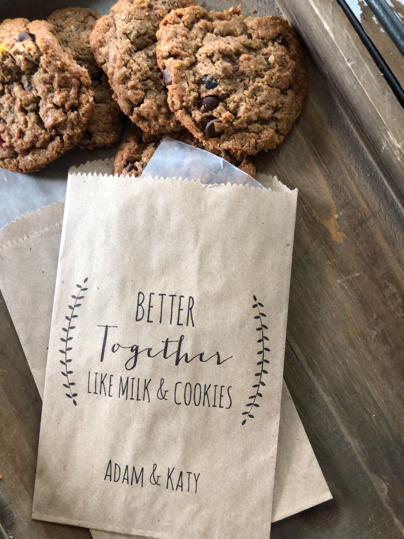 Bridal Shower Cookie Bags Wedding Cookie Bag Wedding Favor Bags
