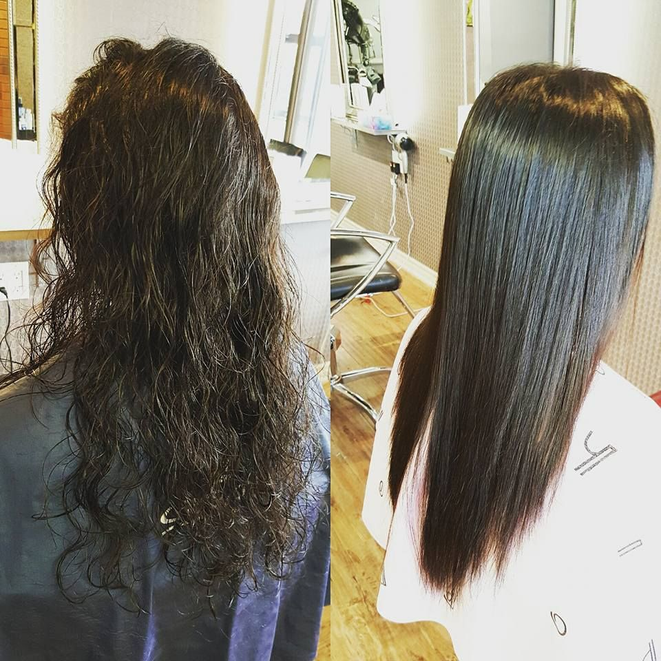 She Got The Permanent perm By Japanese Straight Perm