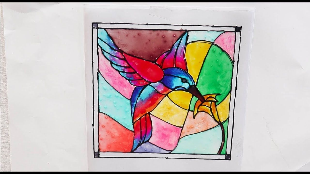 Glass Painting Ideas Glass Painting Step By Step Process