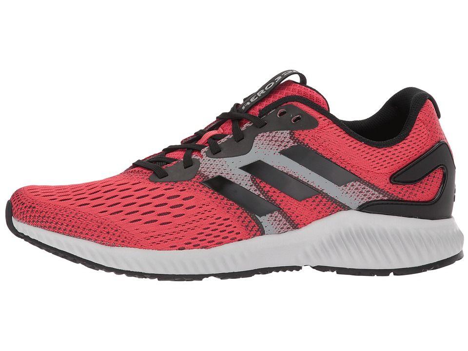 half off e0da9 8ade0 adidas Running Aerobounce Mens Running Shoes Hi-Res RedCore BlackCore  Black