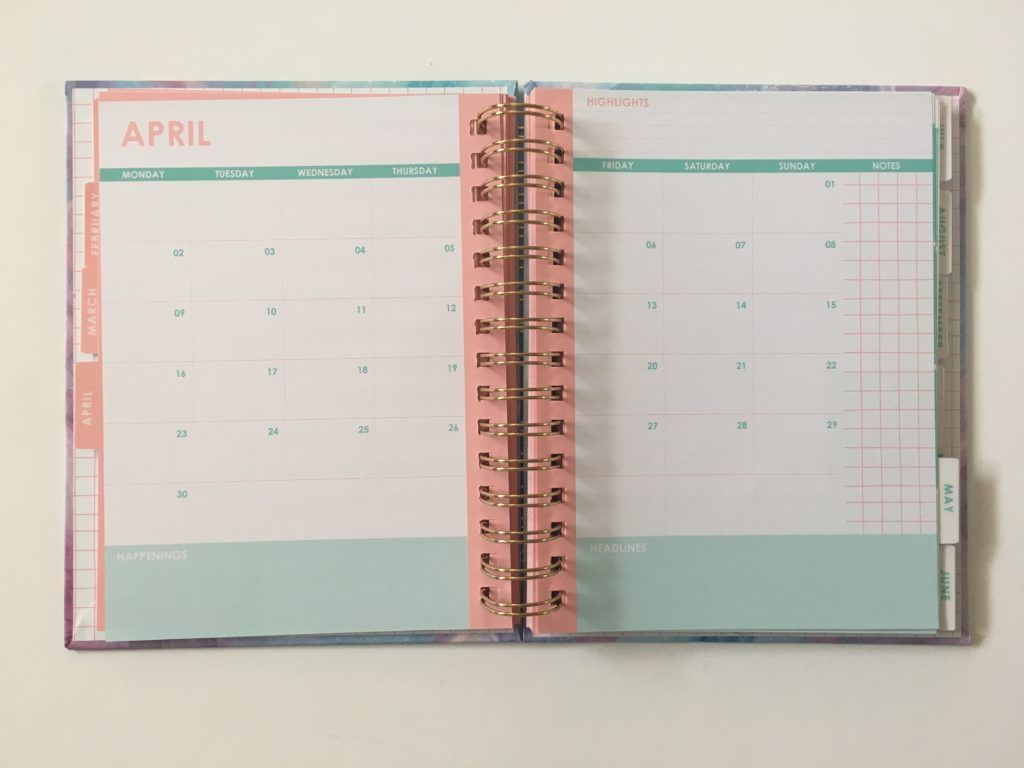 Typo Weekly Planner Review (including video flipthrough ...