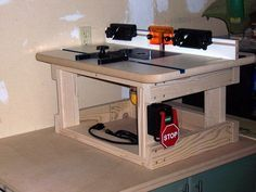 Swell Another Benchtop Router Table Easy Frame From 2X4S Pabps2019 Chair Design Images Pabps2019Com