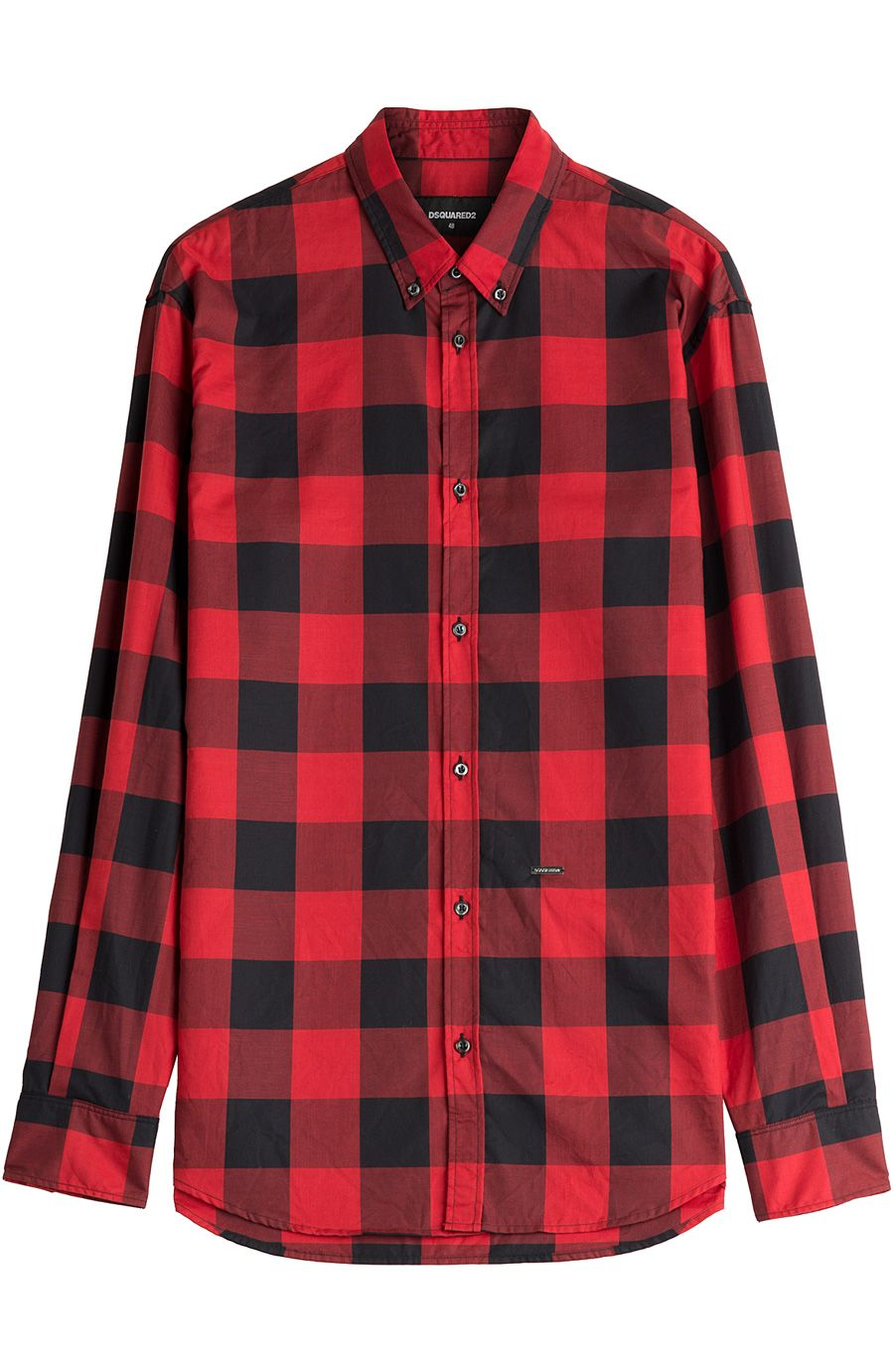 54c23dabb77 DSQUARED2 Printed Cotton Shirt.  dsquared2  cloth  casual long sleeves