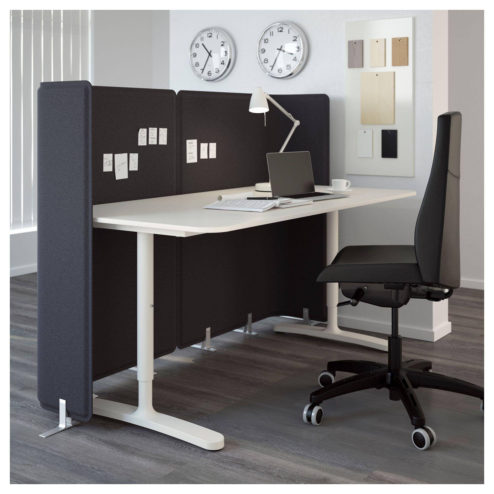 Ikea Bekant Reception Desk White Officedesign Home Office Furniture Ikea Office Furniture Home Office Design