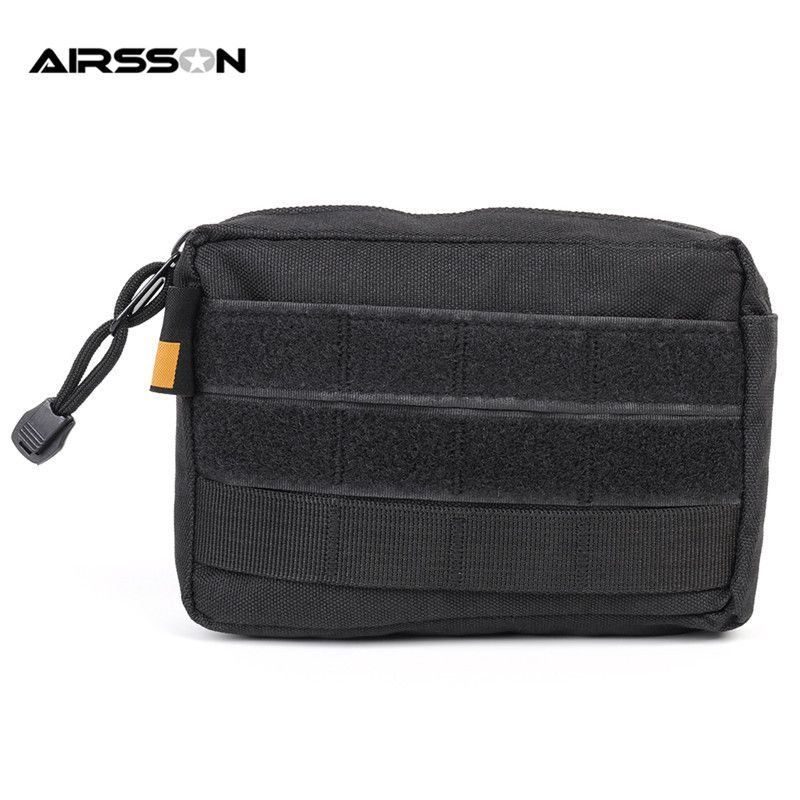 abf795457142 Bag · Airsson 600D Nylon Tactical EDC Molle Pouch Waist Pack Hunting ...