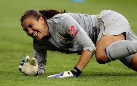 Hope Solo - save me anytime