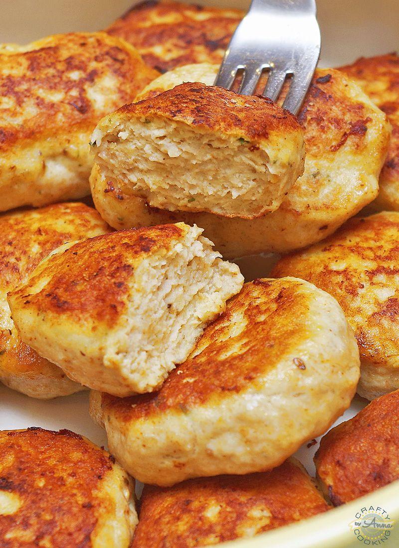 Photo of Moist and Delicious Russian Chicken Kotletki (Куриные котлетки, [patties)