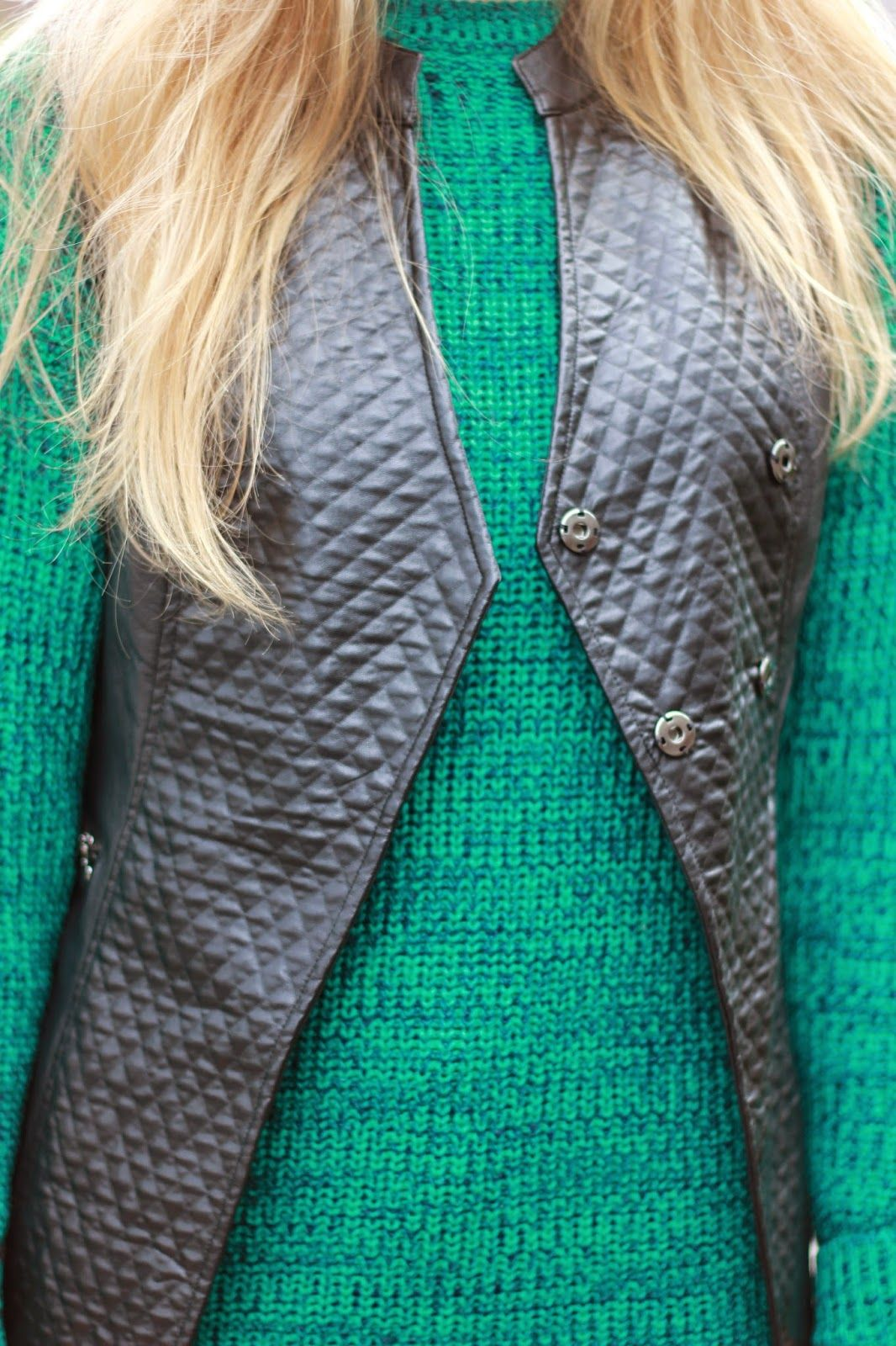 "A close up view of our ""VIXEN VEST"" from our fall/winter collection 2014 #mypinkmartini #winter #fall #fashion"