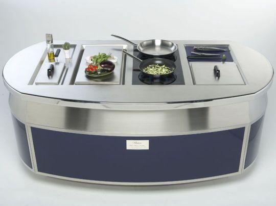 Compact Modular Kitchenunicainoxpiu  Kitchen & Bar Glamorous Compact Modular Kitchen Designs Decorating Inspiration
