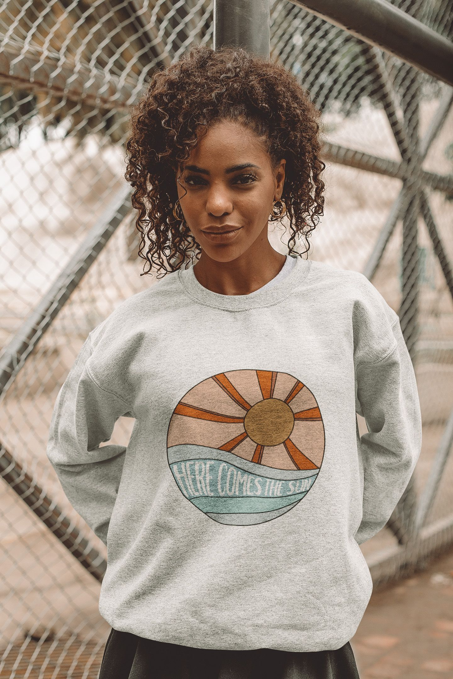 Here Comes The Sun Unisweatshirt In