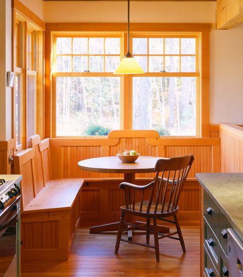 John Cole Architect - dining nook