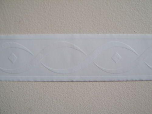 Readyroll White Twist Bed Room Wallpaper Border Self Adhesive Peel N Stick New Ebay Room Wallpaper Wallpaper Border Front Room