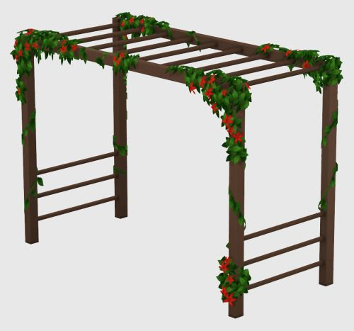Climber Frame I appear to be on a roll … for now anyway lol I finally finished off editing the colours for this climbing frame/monkey bars thing from Avery's garden that you guys asked me to upload so long ago. http://wildlyminiaturesandwich.tumblr.com/post/140805319559/i-appear-to-be-on-a-roll-for-now-anyway-lol-i