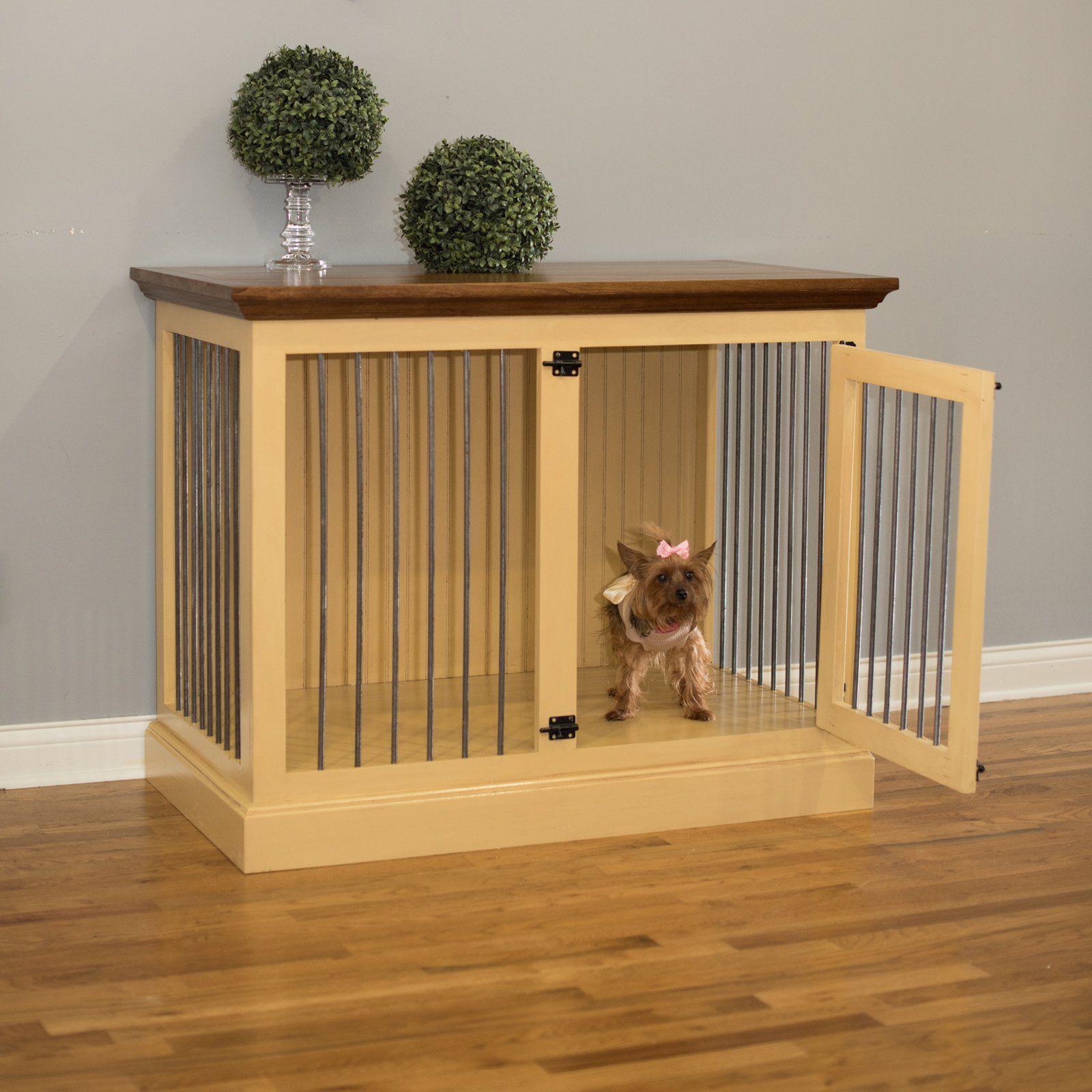 Eagle Furniture Medium Single Dog Crate Credenza   K9MS 352544 AGCC