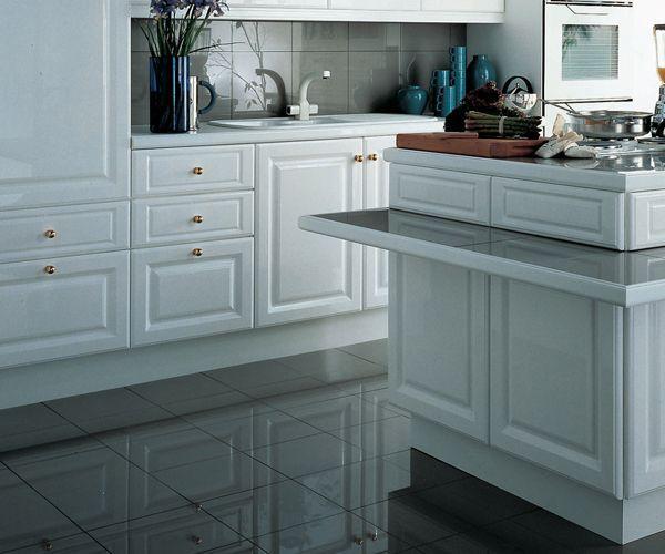 Lo And Behold Black Granite Granite Flooring Modern Kitchen