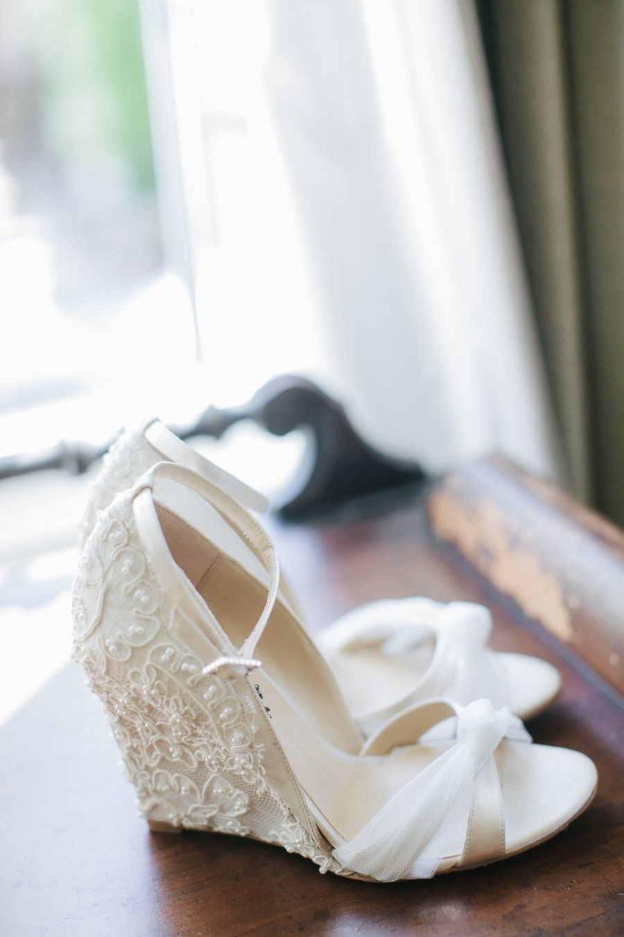 Walkable And Pretty Wedge Wedding Shoes Wedding Shoes Comfortable Wedding Wedges