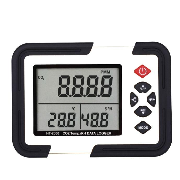 Xintest Ht 2000 Digital Digital Co2 Measuring Instrument For Air Quality Measuring Instrumen Measuring Instrument Data Logger Air Quality