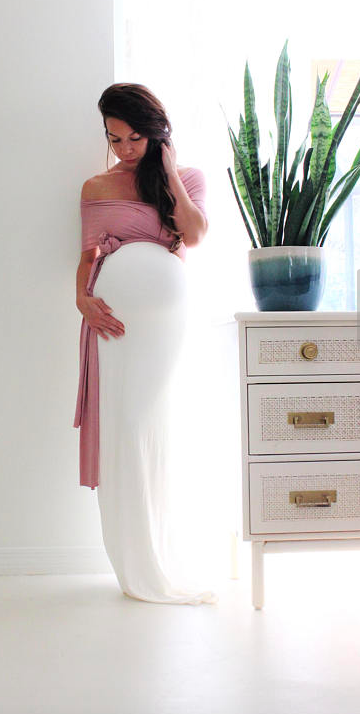 Gorgeous Maternity Gown Perfect Maternity Dress For A Baby Shower