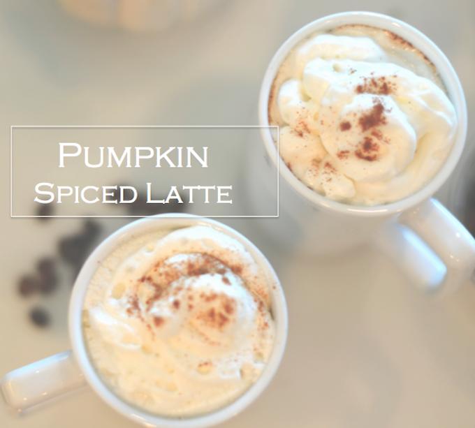 Skinny Pumpkin spiced latte recipe | f a l l . i n s p o ...