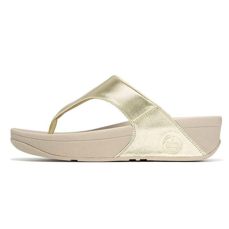 Fitflop LULU Gold Shoes - From UK Fitflop LULU Gold Sandals Outlet. Soft  Sheepskin leather