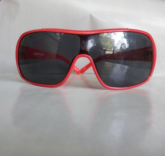 Big Red New Wave Dickies Sunnies Racing Style by GraciousGood