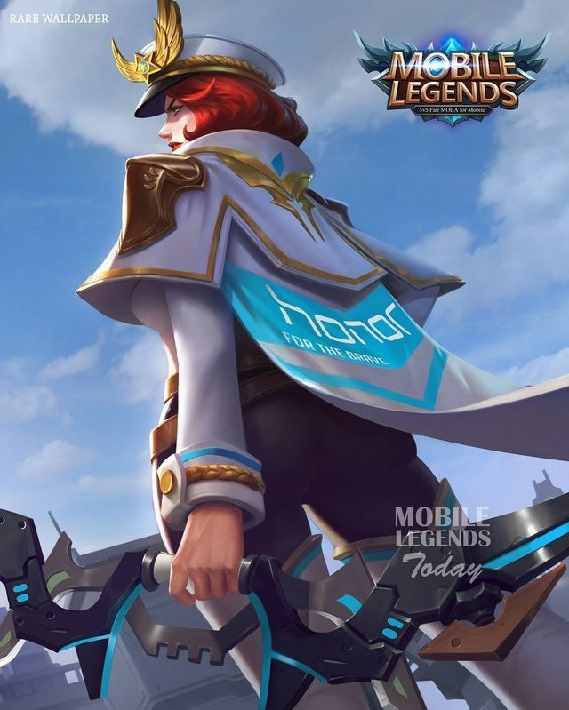 Wallpaper mobile legend hd  Kartu, Animasi, dan Gadis manga