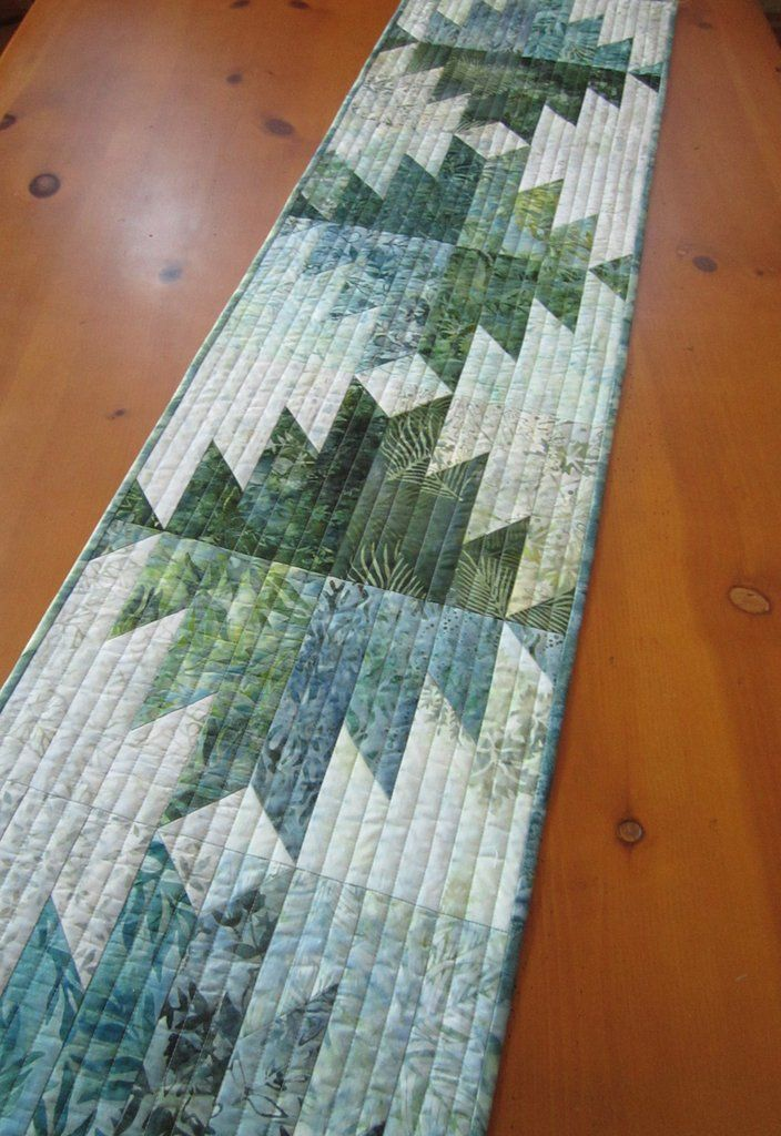 Batik Table Runner Handmade Quilts Table Runners And