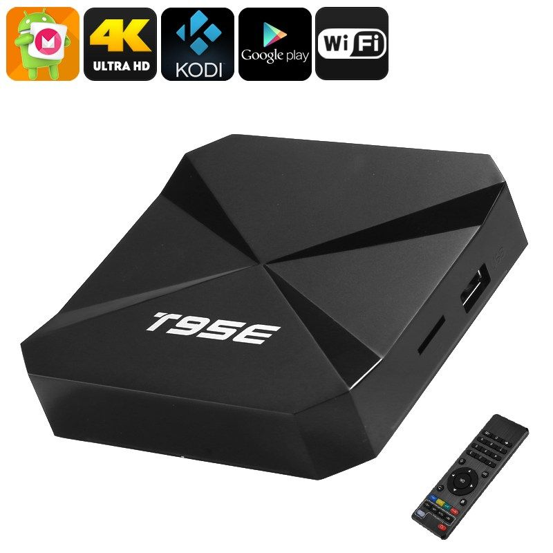 T95E Android TV Box | Android TV Box | Keyboard with