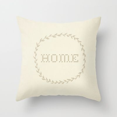 HOME+Throw+Pillow+by+KayJay+-+$20.00