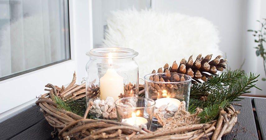 weihnachtsdeko balkon weihnachtsdeko terrasse weihnachtsdeko drau en weihnachten. Black Bedroom Furniture Sets. Home Design Ideas