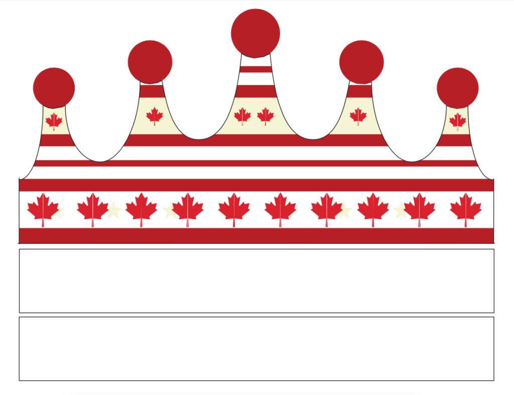 Canada Patriotic Party Crown FREE KidsPressMagazine