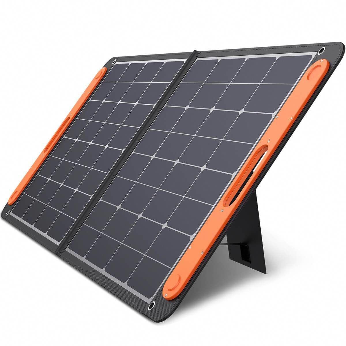 100w Solar Panel Foldable With Usb Dc Ports Jackery Solarpanels Solarenergy Solarpower Solargenera In 2020 Portable Solar Panels Solar Panels Solar Panel Charger