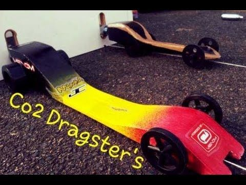Crazy Fast Ghs Co2 Powered Dragster S Design S And Races With