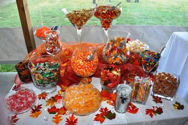 Fall Wedding Candy Buffet Ideas: The Creative Bubble: Wedding Candy Bars
