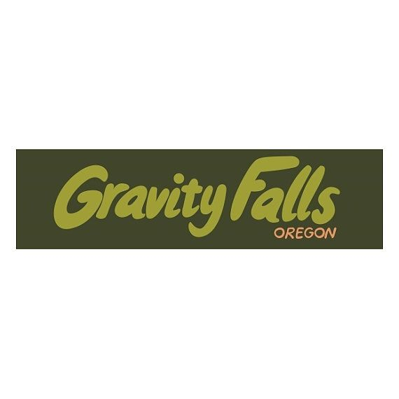 Gravity falls gravity falls oregon bumper sticker