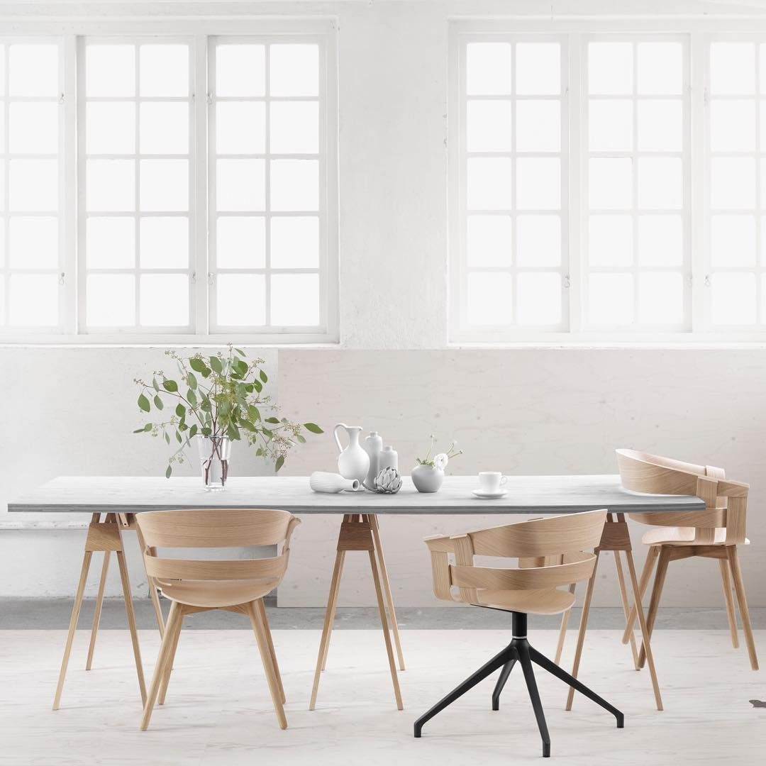 design house stockholm wich chair interior chair wood nordic