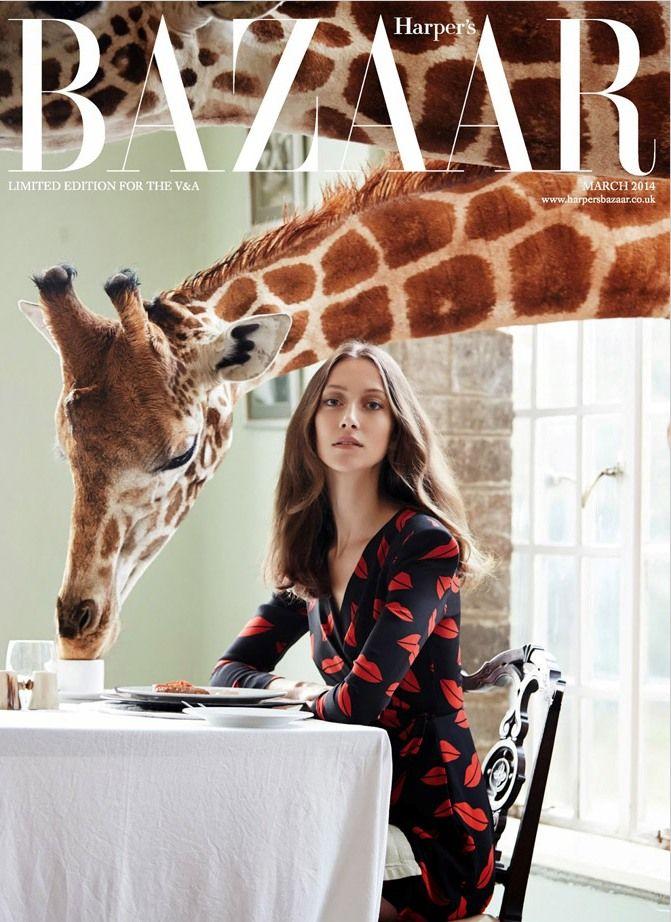 Harpers Bazaar UK March 2014 | Alana Zimmer | Liz Collins
