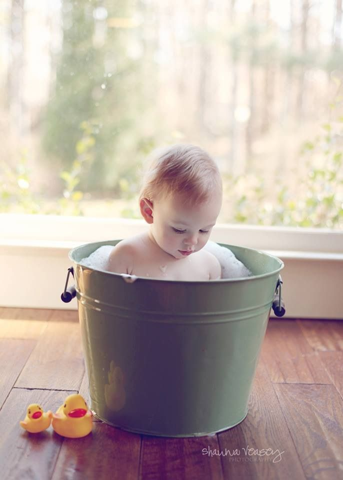 Bath in a Bucket\