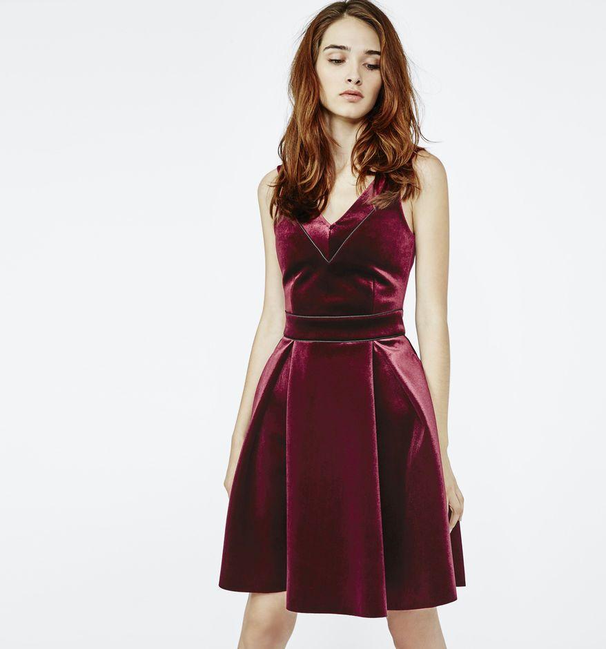 1a41c8a6b44 $70.19 Red velvet dress. | Fashion | Dresses, Red velvet dress ...