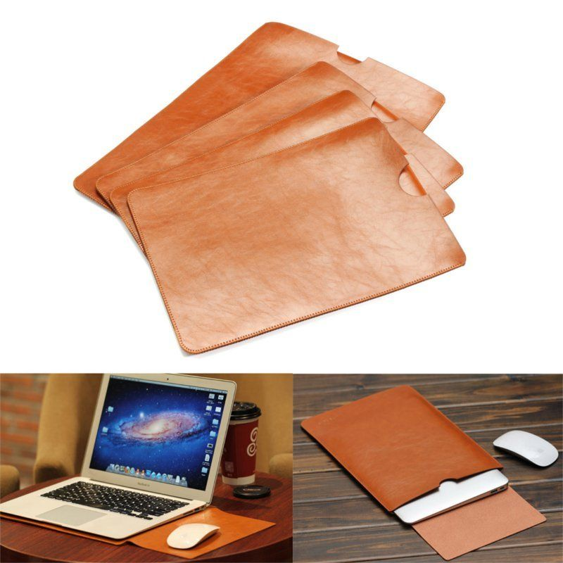 Us 13 44 Pu Leather Bag Case Cover For Macbook 11 12 13 15 Inch