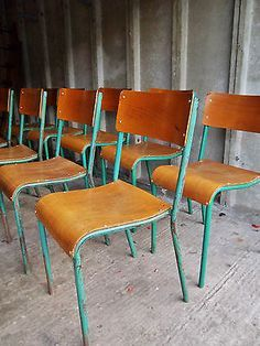 Nice Retro School Dining Chairs   Google Search