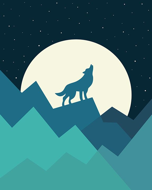 Keep The Wild In You Art Print by andywestface